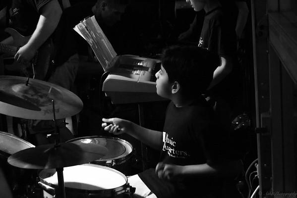 Keshava on drums.