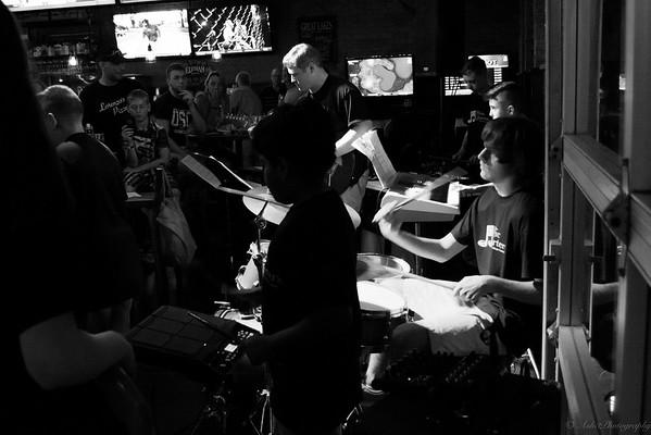 Nicholas plays drums, too!