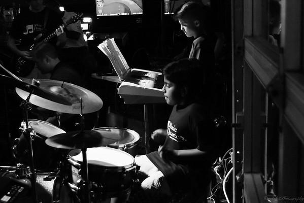 Keshava on drums & Stephen on key board.