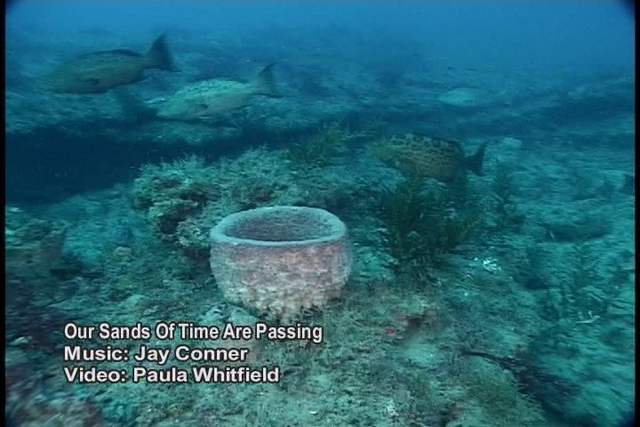Our Sands Of Time Are Passing. Wreck diving video by Paula Whitfield combined with the music of Jay Conner makes for a beautiful foree into the undersea world of the Graveyard of the Atlantic.