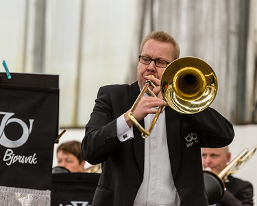 Another impressive concert by Eikanger-Bjørsvik today at Moldegaard. Despite the bad weather, the band dekivered to an appreciative audience.