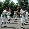 Cam Valley Morris Men dancing in 1999 & 2000
