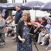 Sidmouth folk festival 2009, Big Band Performance in Anchor Gardens