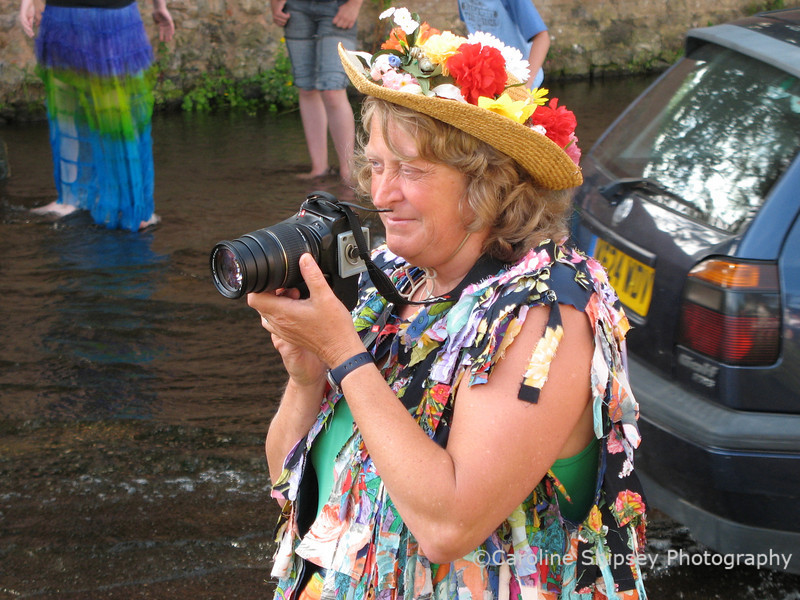 Local lady who takes many good photos every Festival.