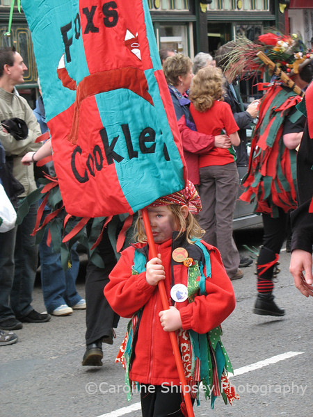 Upton on Severn Folk Festival 2006 - the main procession