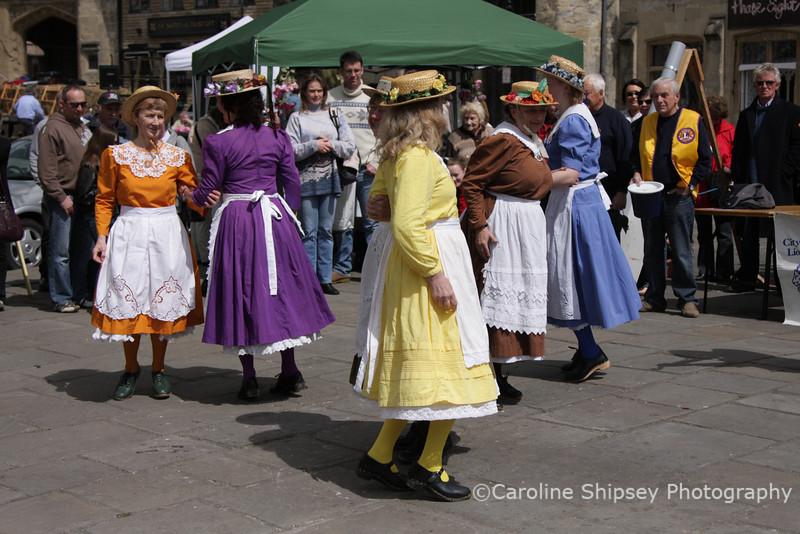 Wells May Fair 2010  Beetlecrushers Clog Dancing