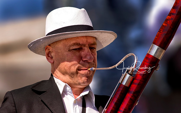"""Street Oboe Musician - Prague"""