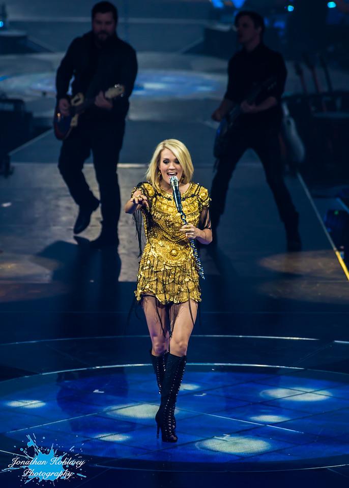 Carrie Underwood at Broadmoor World Arena