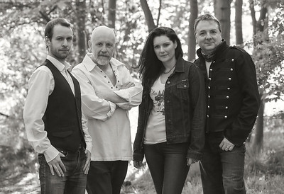Richard, Steve, Donna and EssJay from blues band Lobo