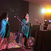 Double Trouble performing at the Wagga Rules Club.