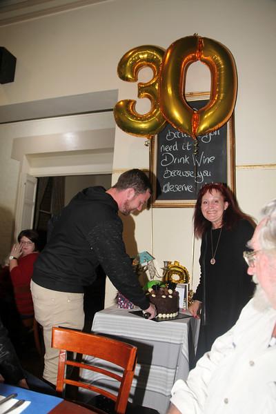 Jamie Britt's 30th Birthday.