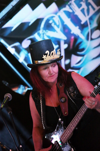 Intensity performing on New Years Eve at O'Mallies in Wodonga.  31st of December 2016.