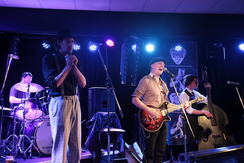 Catfish Voodoo performing at the Bidgee Blues Open Mike 06Aug17.