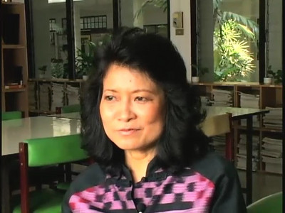 """Ending segment of Joanne Hershfield's film """"Men Are Human, Women Are Buffalo"""", a documentary about domestic abuse of women in Thailand."""