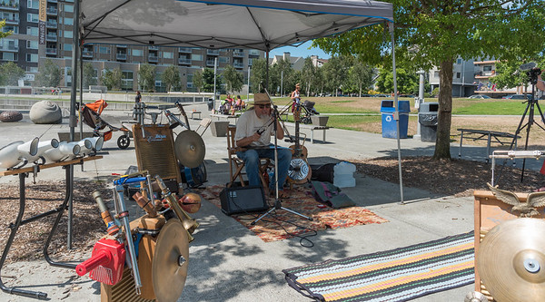 Music in the Park  Ballard Commons with Jim Page
