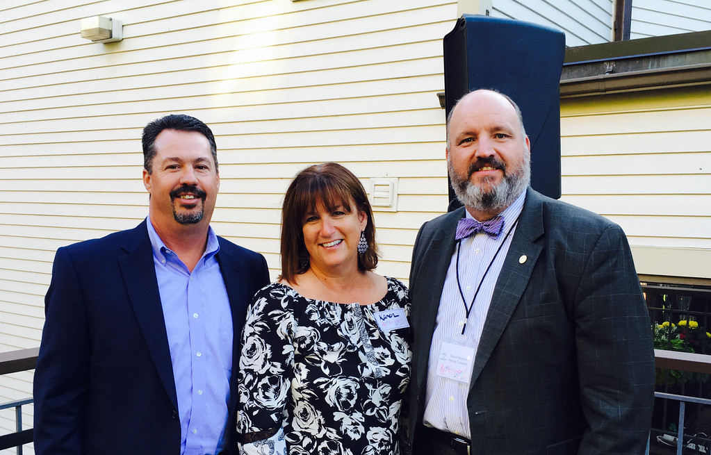 . Dave and Karen Gaudet of Pelham, and MHA board member Patrick Connerty of Hudson, N.H.