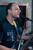 Rony Voodoo rehearsing at Ambatya Music Studio.