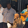07/21/2014 B.B. King live at the Great South Bay Music Festival in Patchogue, N.Y. after the 102.3 WBAB Sticky Fingers Twilight run to benefit the Fortunato Breast Health Center at Mather Hospital.