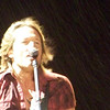 This picture isn't so good, but you can clearly see the rain that started. Keith played on...
