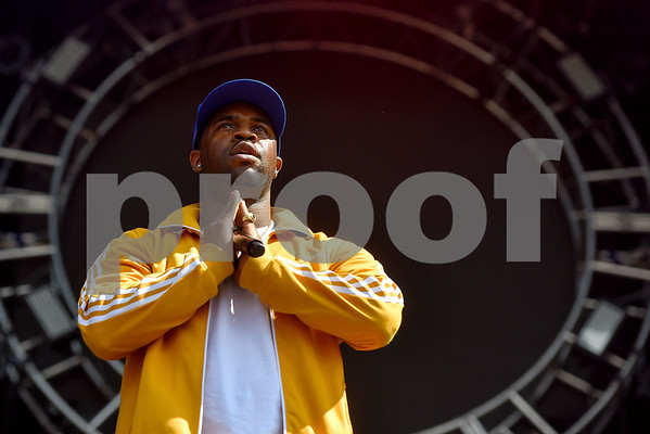 ASAP Ferg performs at Austin City Limits music festival in Austin, Texas, on Saturday, Oct. 14, 2017. (Chelsea Purgahn/Tyler Morning Telegraph)