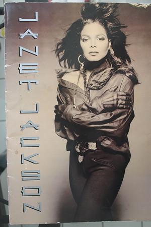 19900408 Janet Jackson: Rhythm Nation World Tour (Program)