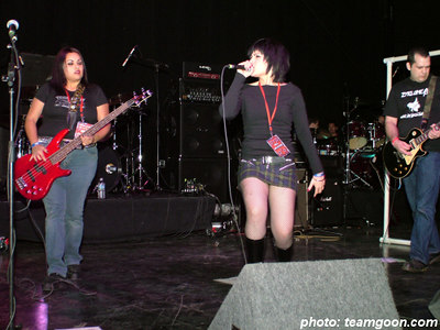 The Voids - British Invasion 2k4 - at Orange Pavillion - San Bernardino, CA - November 20, 2004