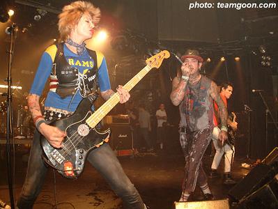 The Hunns - at The Key Club - Hollywood, CA - April 4, 2004