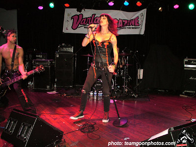Texas Terri - at The Knitting Factory - December 31, 2004