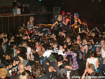 Total Chaos - The Adicts at The Showcase Theater - Corona, CA - June 23, 2004