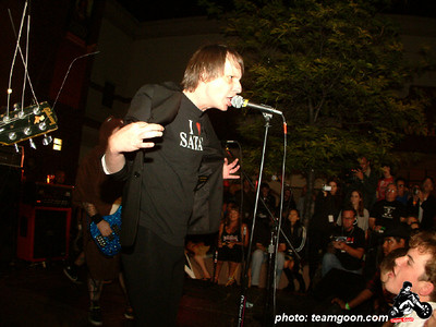 The Dickies - at The Autry Museum - Los Angeles, CA - June 8, 2004