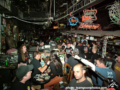 The show starts - Last Show at CBGB's with The Adolescents - Circle Jerks - Channel 3 - DI - 45 Grave - September 9 & 10, 2005 - New York, NY