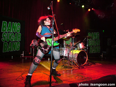 Bang Sugar Bang  - at House of Blues - Anaheim, CA - November 6, 2005