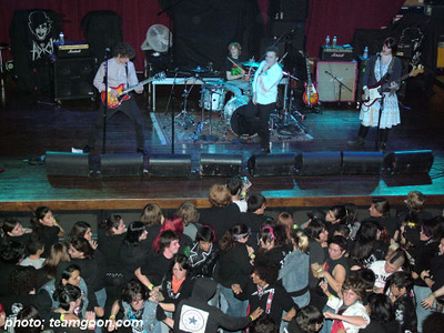 The Diffs - at House of Blues - Anaheim, CA - November 6, 2005