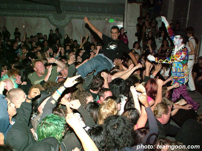 The Adicts - at The Grand Palace - El Cajon, CA - November 8, 2005
