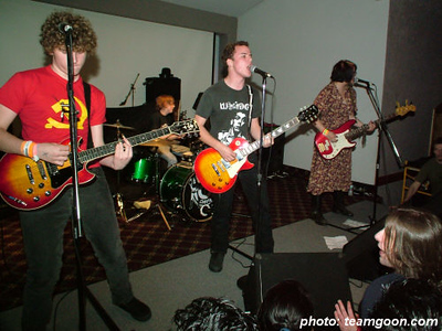 The Diffs - at The Grand Palace - El Cajon, CA - November 8, 2005