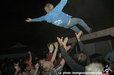 Falling down - Bad Antics - Audacity - Teredacdudes - Friendly Neighbors - at Fullerton Skate Park and Kent's - Fullerton, CA - November 4, 2006