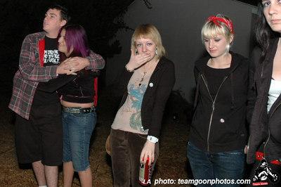 Bad Antics - Audacity - Teredacdudes - Friendly Neighbors - at Fullerton Skate Park and Kent's - Fullerton, CA - November 4, 2006