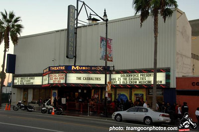 Out front - The Casualties - Krum Bums – Extinct Government – Threatening Verse - Fonda Theater - Hollywood, CA - August 25, 2006