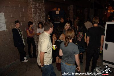 Out front of the Echo - Fuck Yeah Fest III - Los Angeles, CA - August 19, 2006