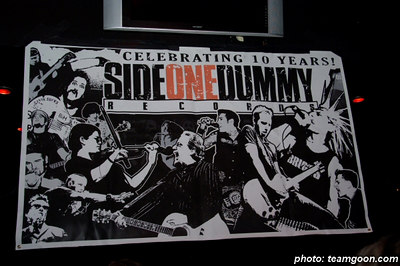 Side One Dummy Records 10 Year Anniversary Show  -  at the Key Club - Hollywood, CA  March 24, 2006
