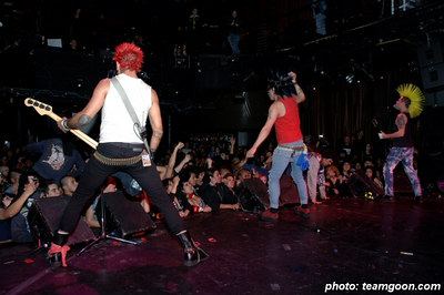 The Casualties  -  Side One Dummy Records 10 Year Anniversary Show  -  at the Key Club - Hollywood, CA  March 23, 2006