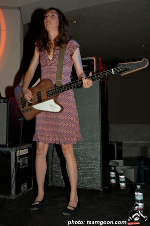 Nikki Monninger - Silversun Pickups at The Hammer Museum - Los Angeles, CA - July 6, 2006