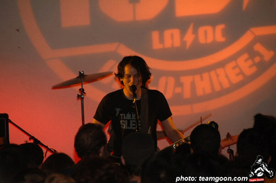 Brian Aubert - Silversun Pickups at The Hammer Museum - Los Angeles, CA - July 6, 2006