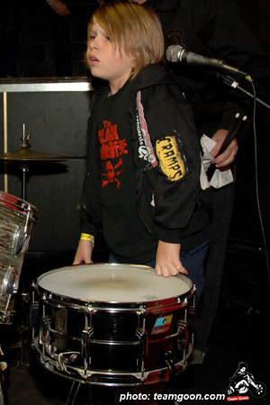 The Milkman of The Strange Ones - Skulls last show at The Showcase Theater - Corona, CA - March 10, 2006