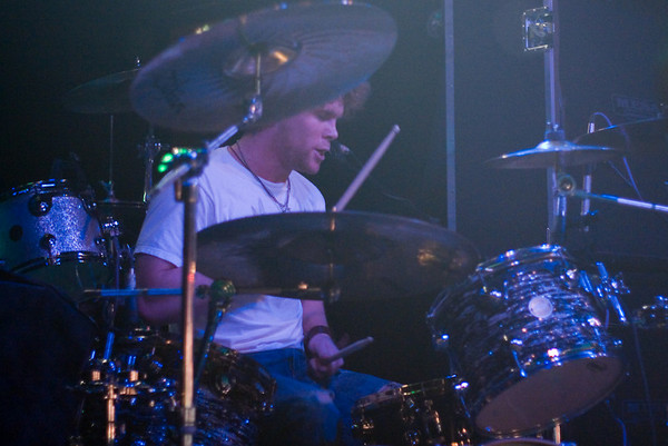 Daniel Smith (drums & backup vocals)