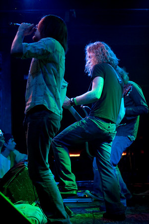 Dave Nadolski (lead vocals) and Kenn Davis (bass)