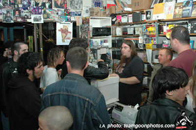 Harpoon Guns Record Release show live at Vinyl Solution in Huntington Beach, CA.