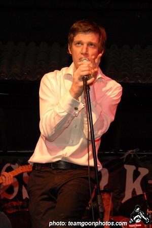 Guest vocalist Underwater City People - at El Cid - Los Angeles, CA - December 12, 2007