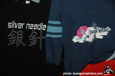 Silver Needle merch  Last Kiss or Kill Club - with Bang Sugar Bang - The Randies - Midway - Silver Needle - Underwater City People - at El Cid - Los Angeles, CA - December 12, 2007