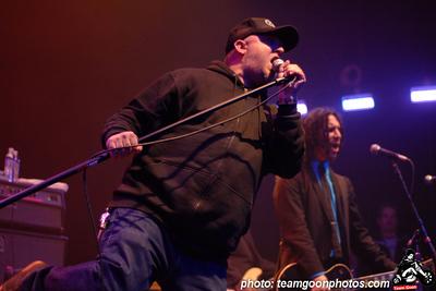 Guest vocalist John Pebs - Punk Rock Karaoke at the Rock to Roll benefit show - at The Avalon Theater - Hollywood, CA - December 11, 2007  Punk Rock Karaoke MySpace: http://www.myspace.com/originalpunkrockkaraoke